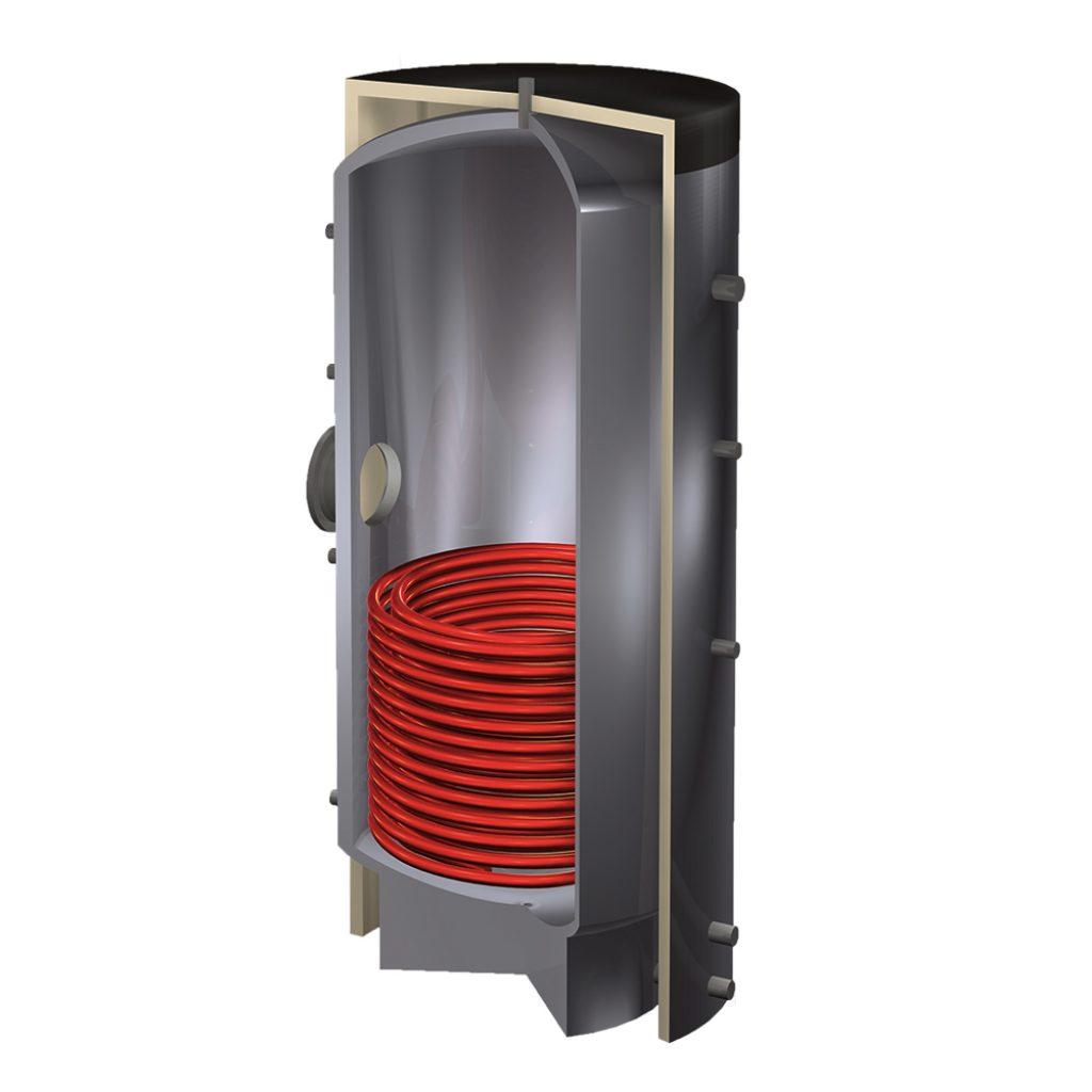 Varmtvandsbeholder R-HLS rustfri